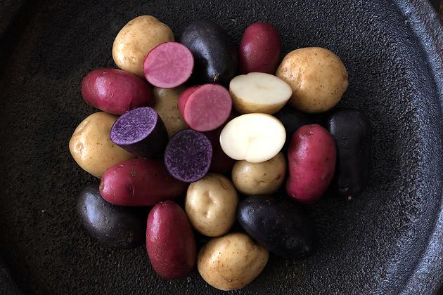 ジャガイモ3種