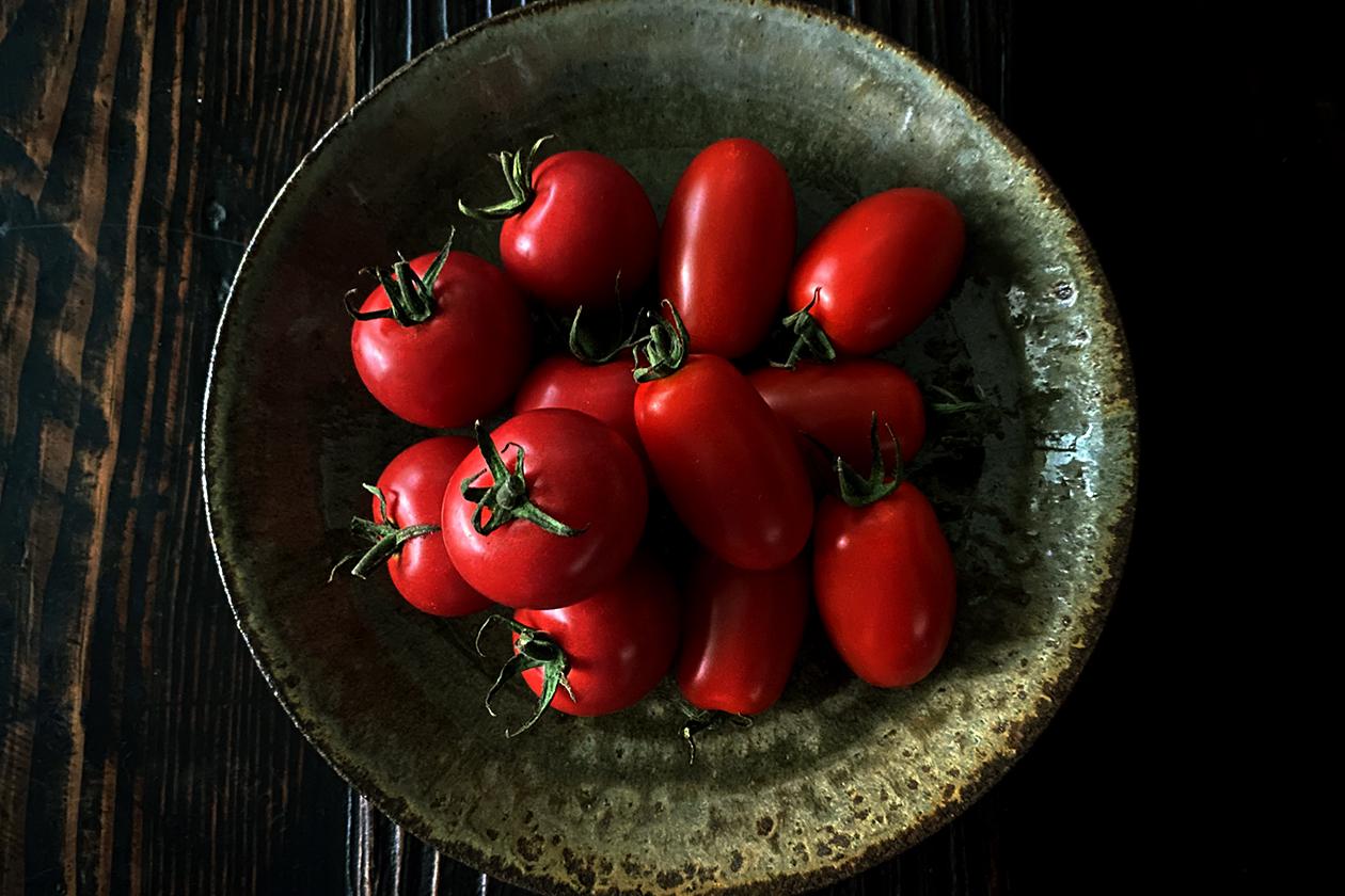 藤本さんのトマト